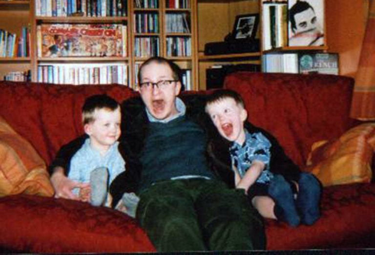32.With the nephews 2004