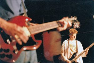 Onstage with Necrophilia, 1988