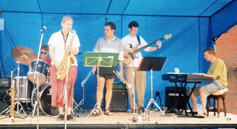 Scott Hammond Quintet Brecon Jazz Festival 1996