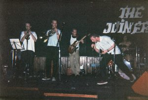 Wholesome Crack on stage in Southampton, 1994